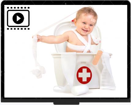 Videocursus EHBO kind – Online (Aanbieding: 40 % korting)
