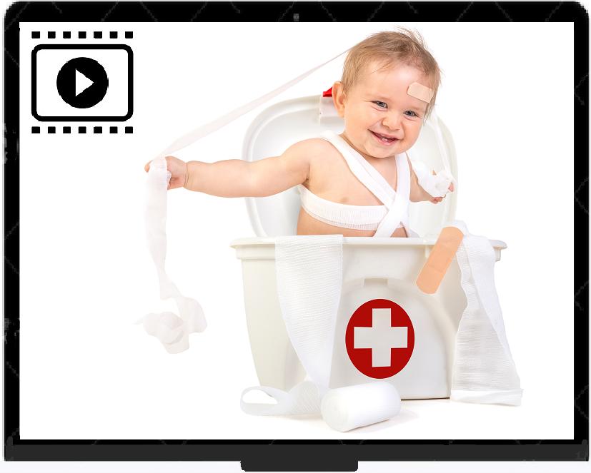 Videocursus EHBO kind – Online (Aanbieding: 20 % korting)